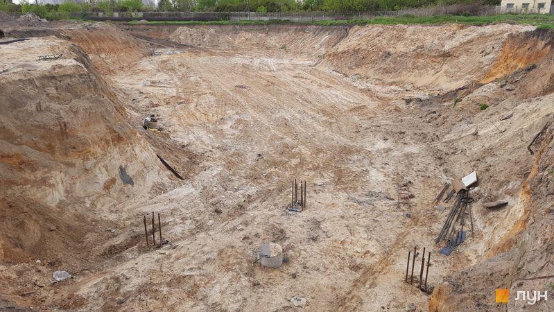 Хід будівництва ЖК Dibrova Park, 10 будинок, травень 2021