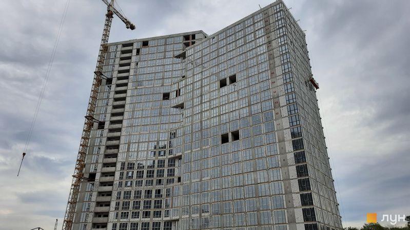 Хід будівництва ЖК Dibrova Park, 2 будинок, травень 2021