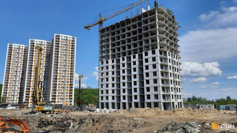 Хід будівництва ЖК Orange City, 3 будинок, травень 2021
