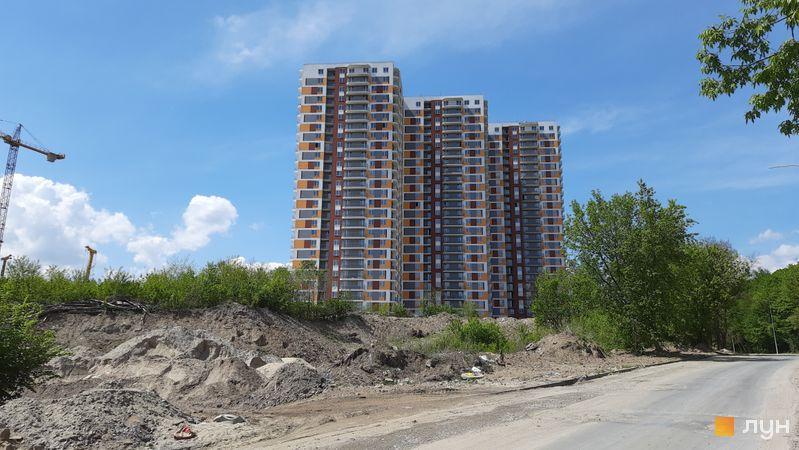 Хід будівництва ЖК Orange City, 1 будинок (секції 1-3), травень 2021