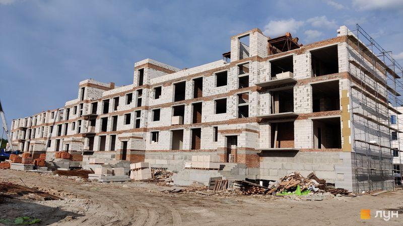 Ход строительства ЖК Ибис, 6 дом, май 2021