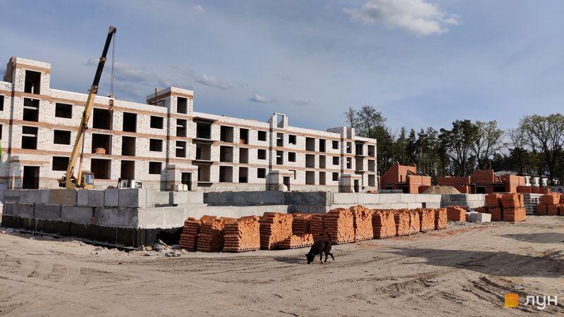 Ход строительства ЖК Ибис, 7 дом, май 2021