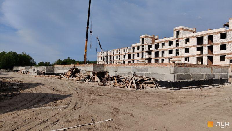 Ход строительства ЖК Ибис, 8 дом, май 2021