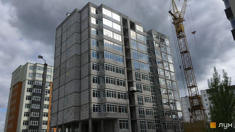 Хід будівництва ЖК Стожари, 2 будинок (секція 1), травень 2021