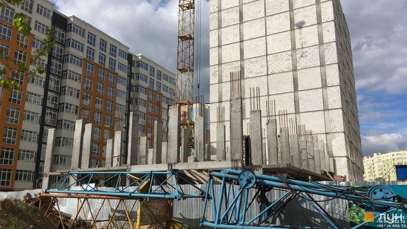 Хід будівництва ЖК Стожари, 2 будинок (секція 2), травень 2021