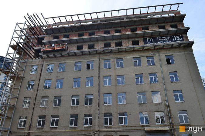 Ход строительства Апарт-отель Just Apartments, Дом, май 2021
