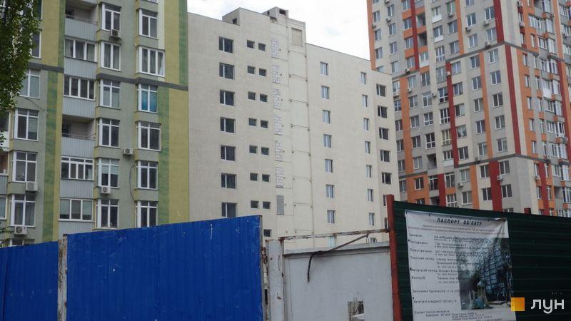 Ход строительства ЖК Грюнвальд, 7 дом, май 2021