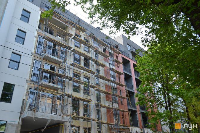 Ход строительства ул. Антоновича, 31, 3 дом, май 2021