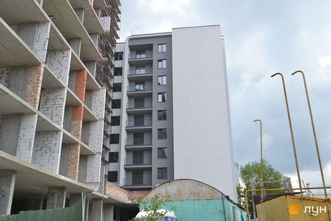 Ход строительства ЖК Resident Hall, 3 секция, май 2021