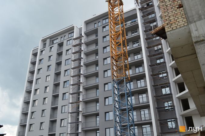 Ход строительства ЖК Resident Hall, 1 секция, май 2021