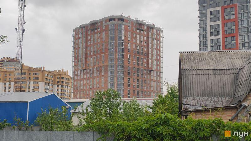 Ход строительства ЖК Crystal Avenue, 2 дом, май 2021