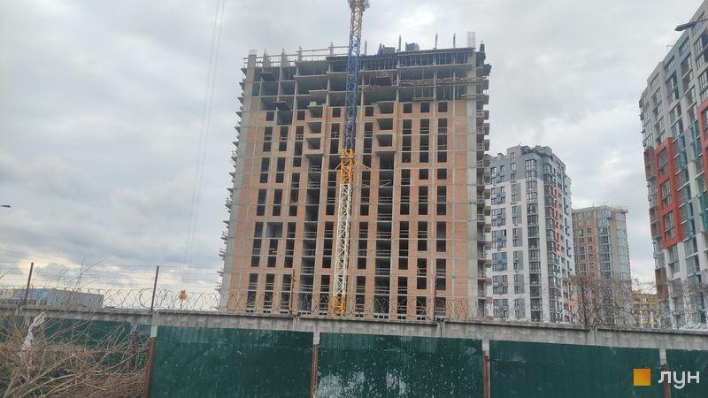 Ход строительства ЖК Crystal Avenue, 4 дом, май 2021