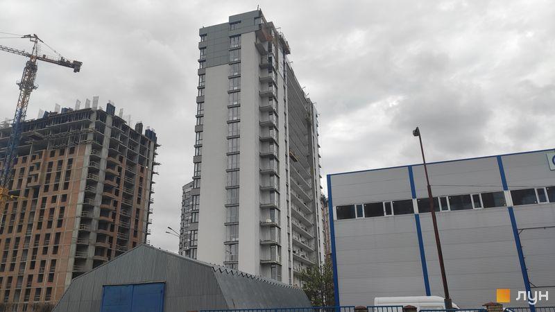 Ход строительства ЖК Crystal Avenue, 3 дом, май 2021