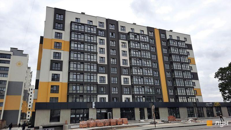 Ход строительства ЖК Солнечный, 4 дом, май 2021