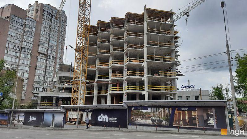 Хід будівництва ЖК А136 Highlight Tower, Будинок, травень 2021