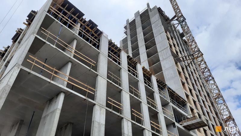 Ход строительства ЖК Stanford, 106 секция, май 2021