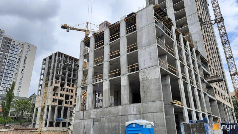 Ход строительства ЖК Stanford, 107 секция, май 2021