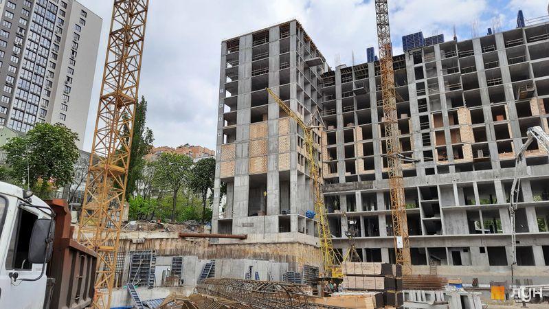 Ход строительства ЖК Stanford, 103 - 105 секции, май 2021