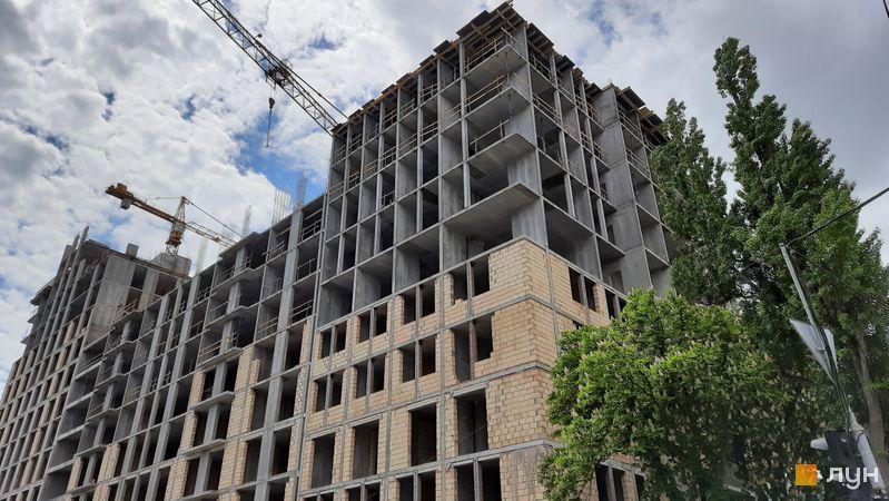 Ход строительства ЖК Stanford, 104 секция, май 2021