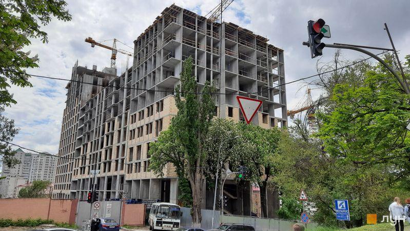 Ход строительства ЖК Stanford, 104-106 секции, май 2021