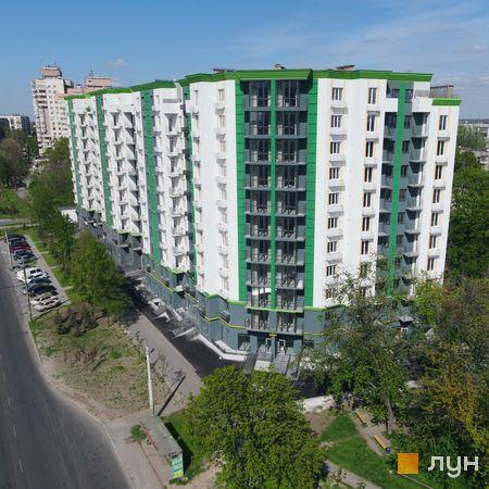 Хід будівництва ЖК Comfort City, Будинок, травень 2021