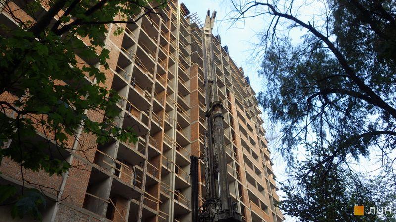 Хід будівництва ЖК CITY HUB, 1 будинок, травень 2021