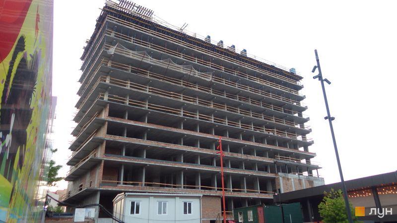 Хід будівництва Апарт-комплекс Standard One Terminal, Будинок, травень 2021
