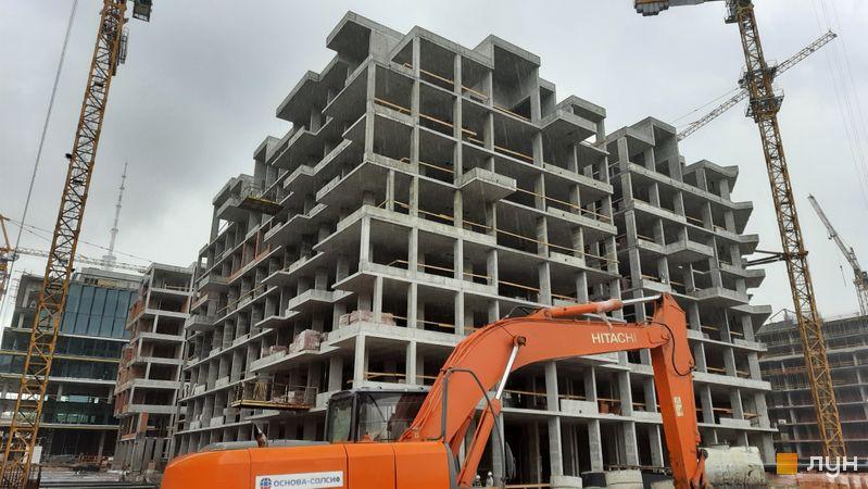 Хід будівництва ЖК UNIT.Home, Будинок А05 (секції А0505-А0507), травень 2021