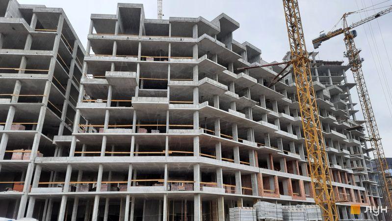 Хід будівництва ЖК UNIT.Home, Будинок А05 (секції А0504, А0505), травень 2021