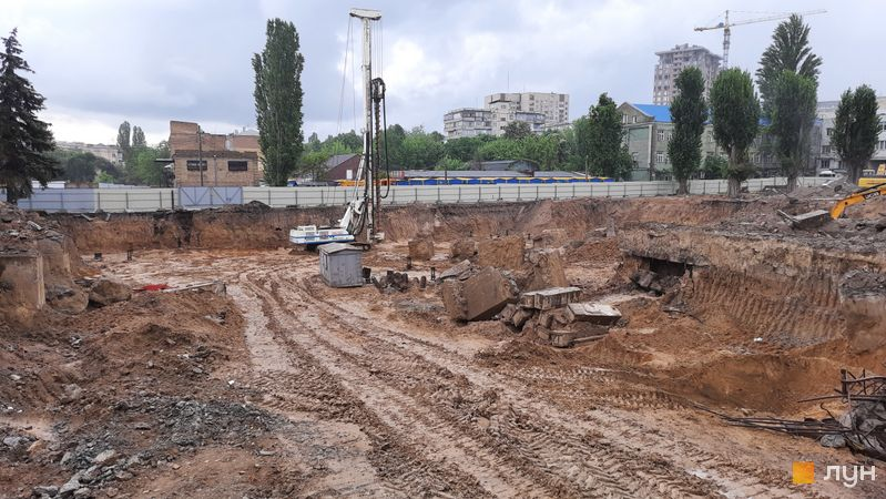 Хід будівництва ЖК UNIT.Home, Будинок А06, травень 2021