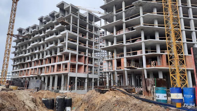 Хід будівництва ЖК UNIT.Home, Булинок А05 (секція А0504), травень 2021
