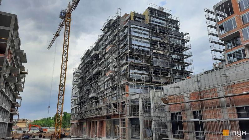Хід будівництва ЖК UNIT.Home, Будинок А07 (секції А0703-А0706), травень 2021
