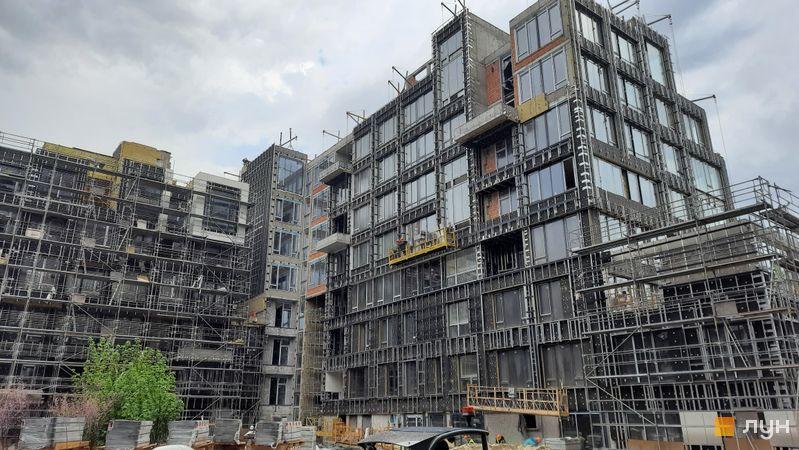 Хід будівництва ЖК UNIT.Home, Будинок А07 (секції А0707-А0709), травень 2021
