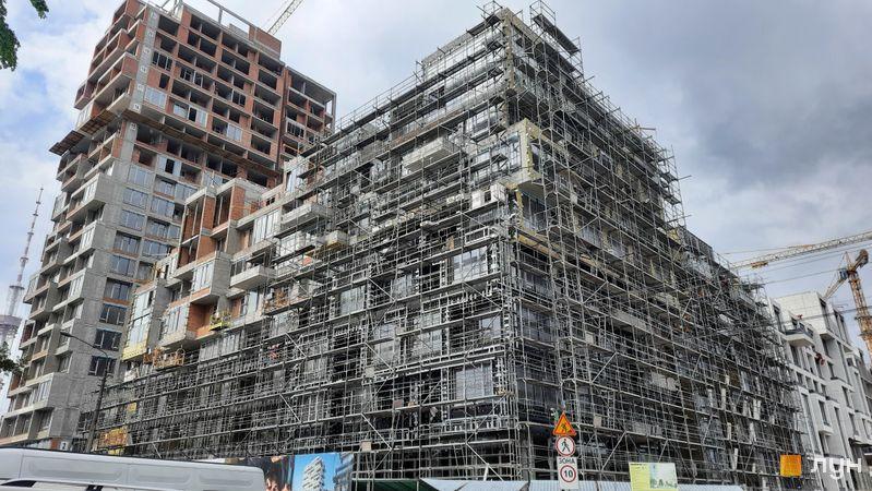 Хід будівництва ЖК UNIT.Home, Будинок А07, травень 2021