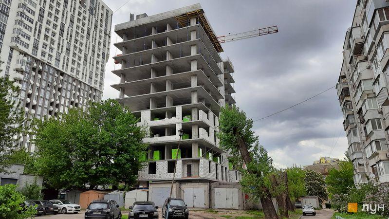 Хід будівництва ЖК Forward, Будинок, травень 2021