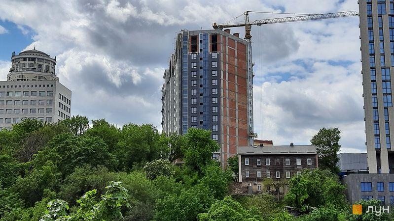 Хід будівництва ЖК Львівська площа, 1-2 секції, травень 2021