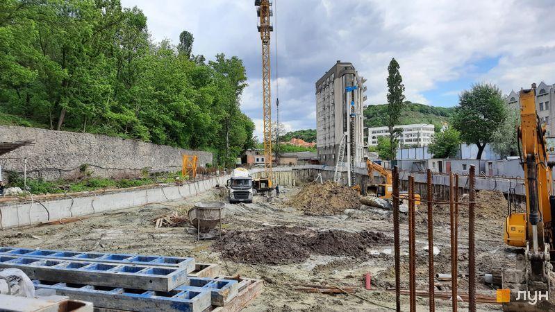 Хід будівництва ЖК Podil Plaza & Residence, 2 будинок, травень 2021