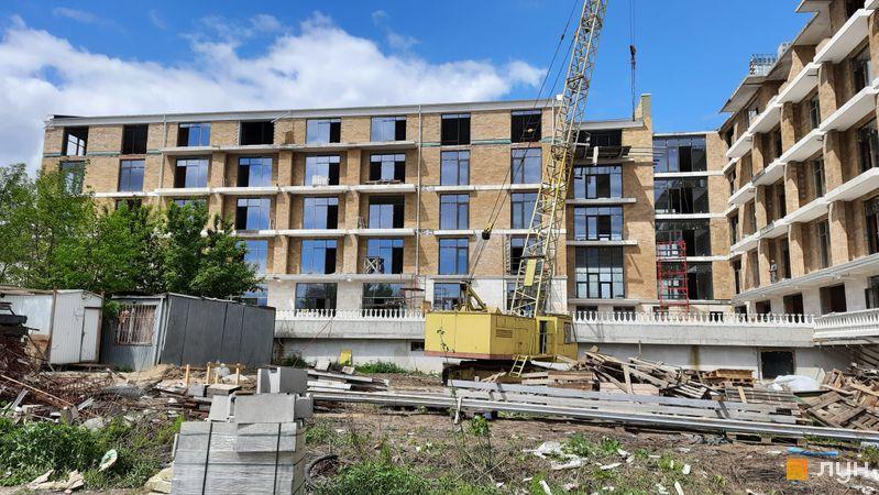 Хід будівництва Клубний будинок Liberty Residence, Будинок, травень 2021
