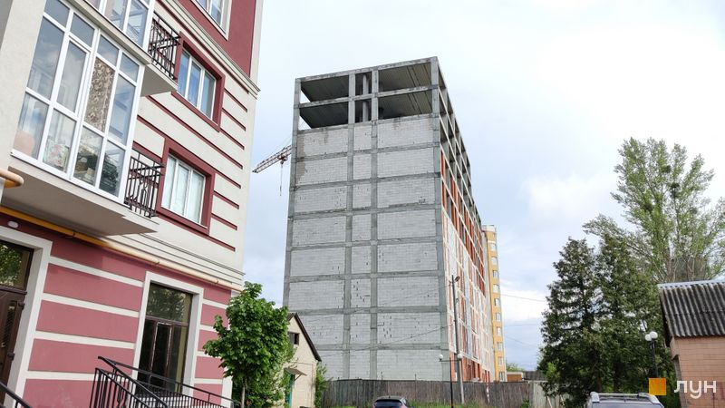 Хід будівництва ЖК Гостомель Сіті, 1 будинок, травень 2021