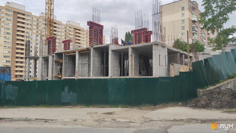 Хід будівництва ЖК Вишгород Плаза, Будинок, травень 2021