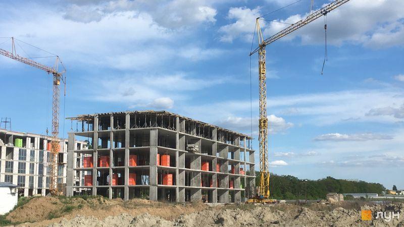 Хід будівництва ЖК Petrivsky Residence, 6 будинок, травень 2021