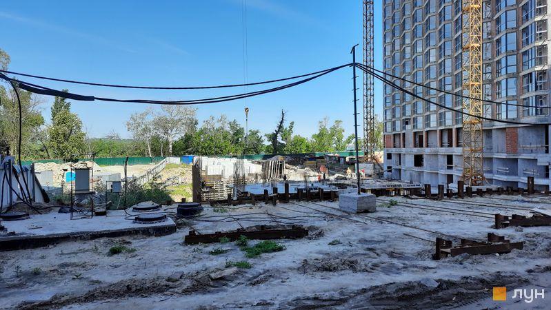 Ход строительства ЖК Заречный, 7.1 дом, май 2021