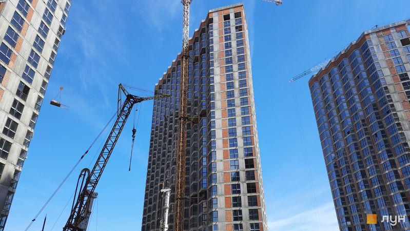 Ход строительства ЖК Заречный, 8 дом, май 2021
