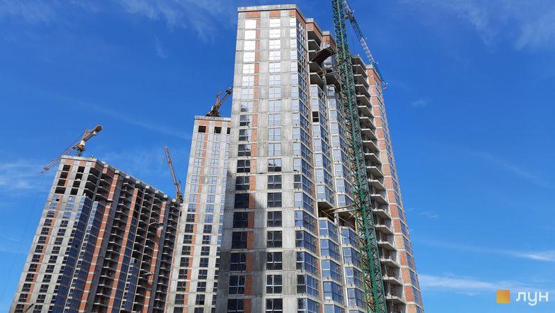 Ход строительства ЖК Заречный, 9 дом, май 2021