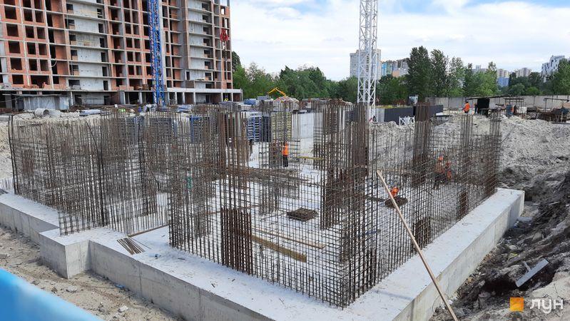 Хід будівництва ЖК Причал 8, 2 будинок, травень 2021