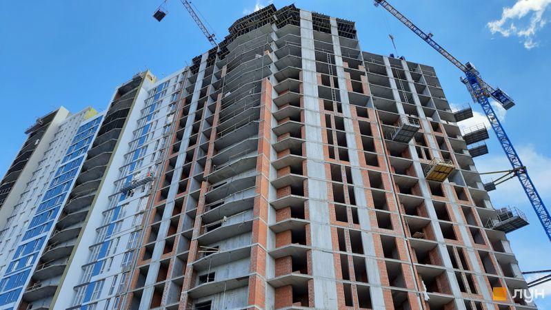 Хід будівництва ЖК Причал 8, 1 будинок (секція 5), травень 2021