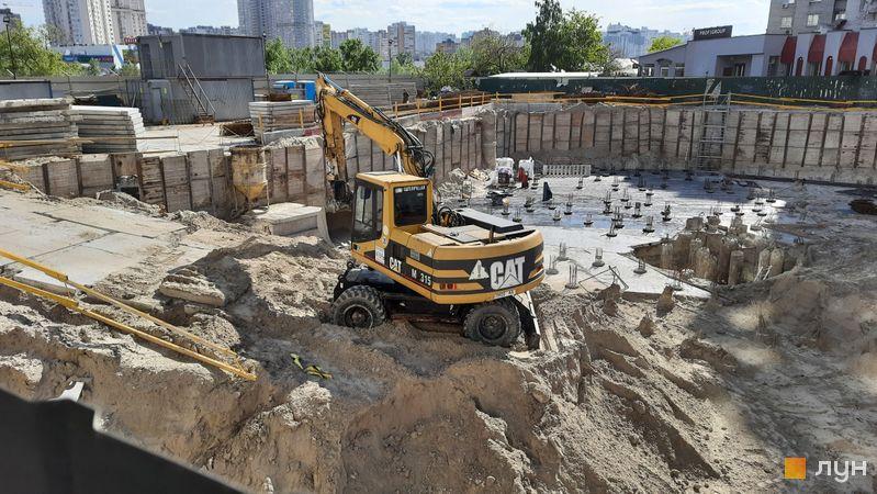 Ход строительства 31Z, Дом, май 2021