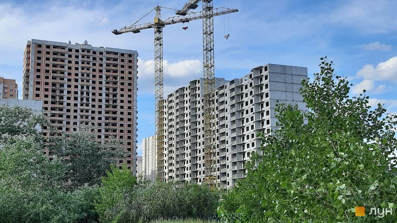Хід будівництва ЖМ Патріотика, ЖБ Чигирин (№34), травень 2021
