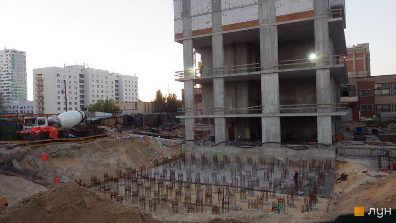 Ход строительства ЖК Olympic Park, 1 дом (секция 5), май 2021