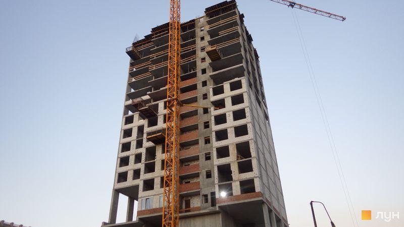 Ход строительства ЖК Olympic Park, 1 дом (секция 4), май 2021